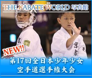 空手ワールド写真館 第17回全日本少年少女大会写真掲載